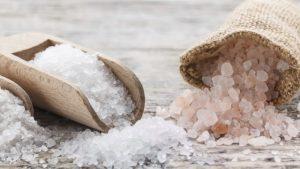 peeling z soli
